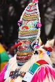 Colorful kuker mask Royalty Free Stock Images