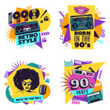 Colorful Labels Set Royalty Free Stock Images