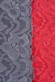 Colorful Lace Fabric Royalty Free Stock Photo