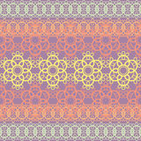 colorful lace pattern Royalty Free Stock Photos