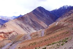 Colorful  Ladakh scenic Royalty Free Stock Photography