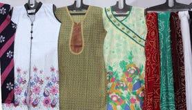 Colorful Ladies Kurtas Royalty Free Stock Images