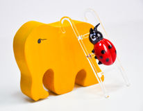 Colorful ladybug Stock Images