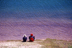 The colorful lake Stock Photography