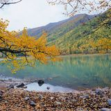 Colorful lake Stock Photography
