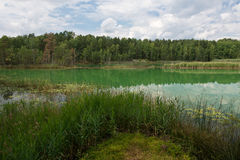 Colorful lake Royalty Free Stock Photos