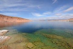 Colorful Lake Stock Image