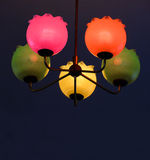 Colorful lamps (GDR) Royalty Free Stock Photo