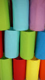 Colorful lampshades Stock Photos