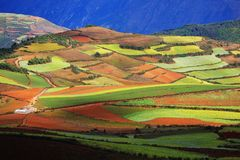 Colorful land Stock Photos