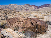 Colorful Landscape in Desert. Death Valley is a wonderful place. You can find there and admire the varied landscapes Royalty Free Stock Images