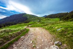 Colorful landscape in the mountains, America travel, beauty world Stock Images