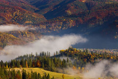 Colorful landscape in the mountains, America travel, beauty world Stock Photo