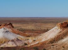 A colorful landscape in South Australia Stock Photography