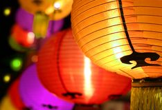 Colorful Lantern festival Royalty Free Stock Photography