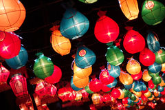 Colorful lanterns Stock Photography