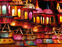 Colorful Lanterns Stock Image