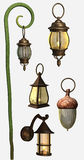 Colorful lanterns Royalty Free Stock Images