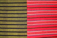 Colorful laos silk handcraft peruvian style rug surface old vintage torn conservation Made from natural materials Chemical free cl. Colorful laos silk handcraft stock photos