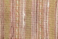 Colorful laos silk handcraft peruvian style rug surface old vintage torn conservation Made from natural materials Chemical free cl. Colorful laos silk handcraft royalty free stock images