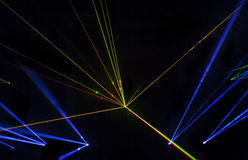 Colorful Laser Effect Stock Image