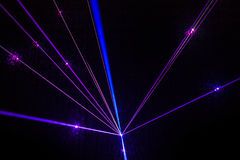Colorful Laser Effect Royalty Free Stock Images