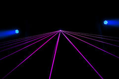 Colorful Laser Effect Royalty Free Stock Image