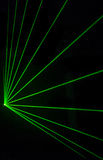 Colorful Laser Effect. Over a plain black background Royalty Free Stock Photos