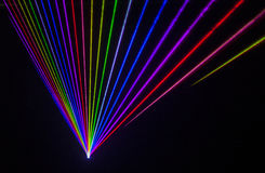 Colorful Laser Effect Royalty Free Stock Photography