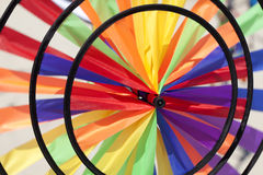 Colorful lawn spinner Royalty Free Stock Photo