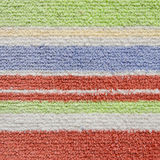 Colorful Layers of Carpet Texture Royalty Free Stock Photography