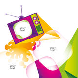 Colorful layout. Royalty Free Stock Images
