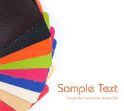 Colorful leather Royalty Free Stock Photos