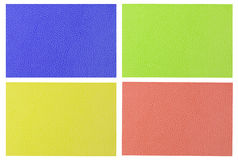 Colorful leather background Stock Photography
