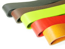 Colorful leather belt Stock Photography