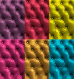 Colorful leather texture Royalty Free Stock Photo