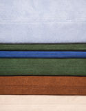 Colorful leather texture sewing - Royalty Free Stock Photo