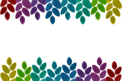 Colorful leaves Stock Images