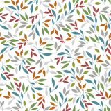 Colorful leaves pattern vector illustration