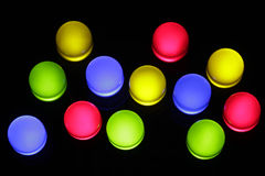 Colorful LED Royalty Free Stock Photography