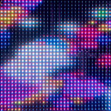 LED light interaction wall. Colorful led light interaction wall Royalty Free Stock Photography