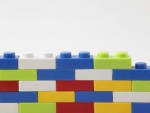 Colorful lego Stock Photography