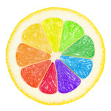 Colorful lemon stock photography