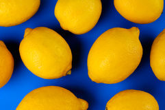 Colorful Lemon Abstraction Royalty Free Stock Photography
