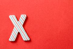 Colorful Letter X Stock Images