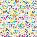 Colorful letters Stock Photos