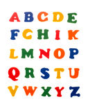 Colorful letters of alphabet Royalty Free Stock Photos