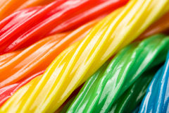 Colorful Licorice Stock Photography