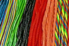 Colorful licorice stock image
