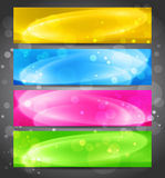 Colorful light  banner. Stock Photos